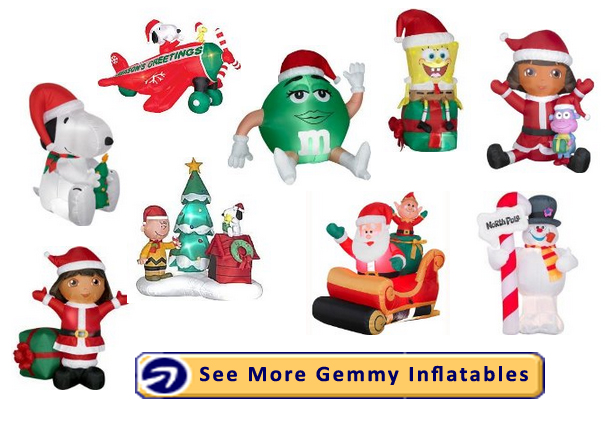 why you should choose gemmy if you want inflatable christmas decorations