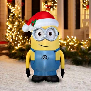 inflatable minion dave - Minions Christmas Decorations