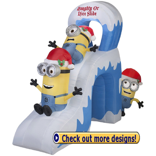 inflatable naughty minions naughty or nice